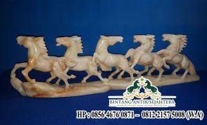 Jual Patung Kuda Renteng Batu Marmer