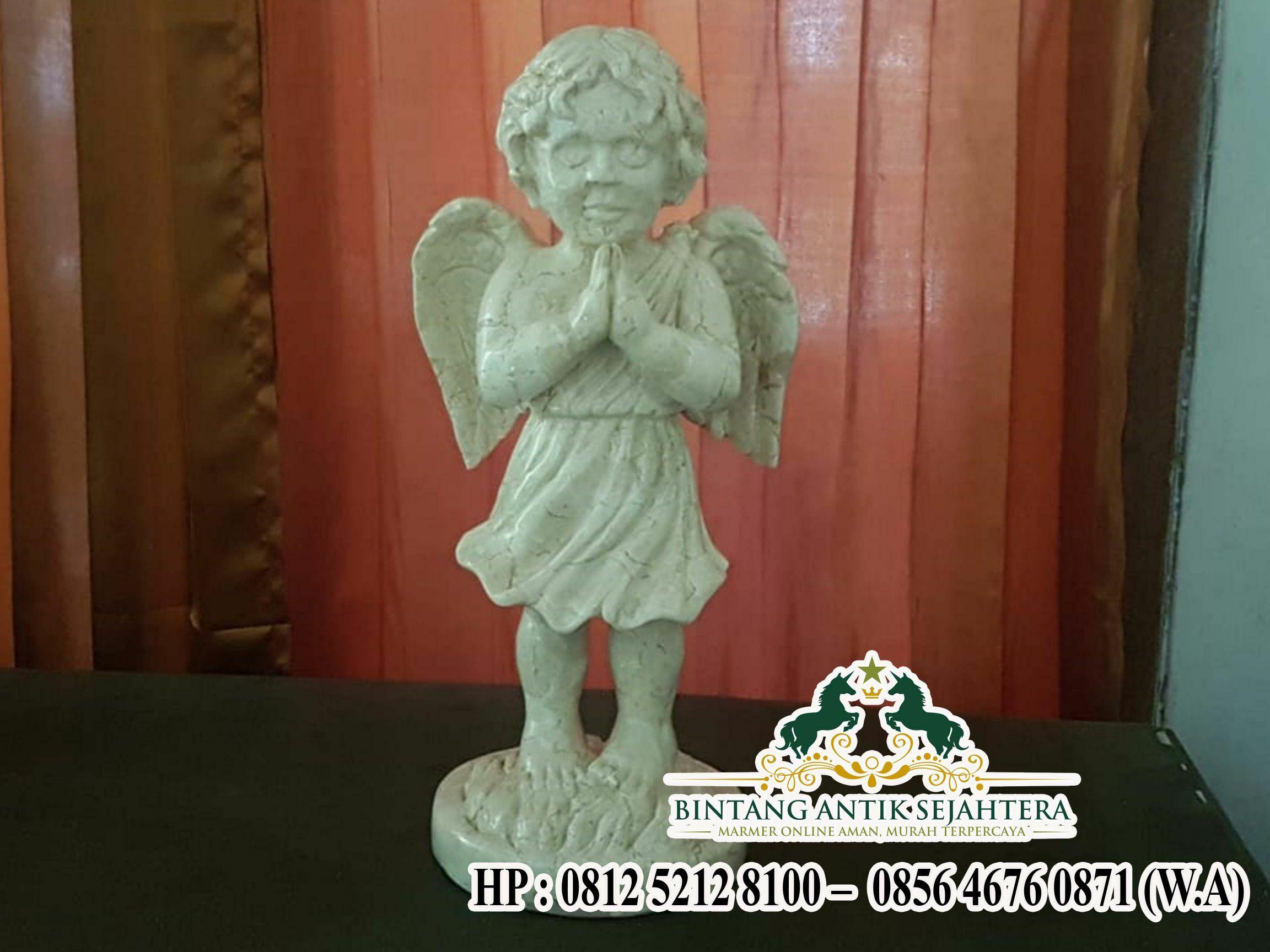 Patung Malaikat dari Marmer | Harga Patung Marmer Termurah