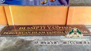 Jual Prasasti Nameboard Terbaru Jawa Timur