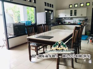 Gambar Top Table Minimalis Batu Alam