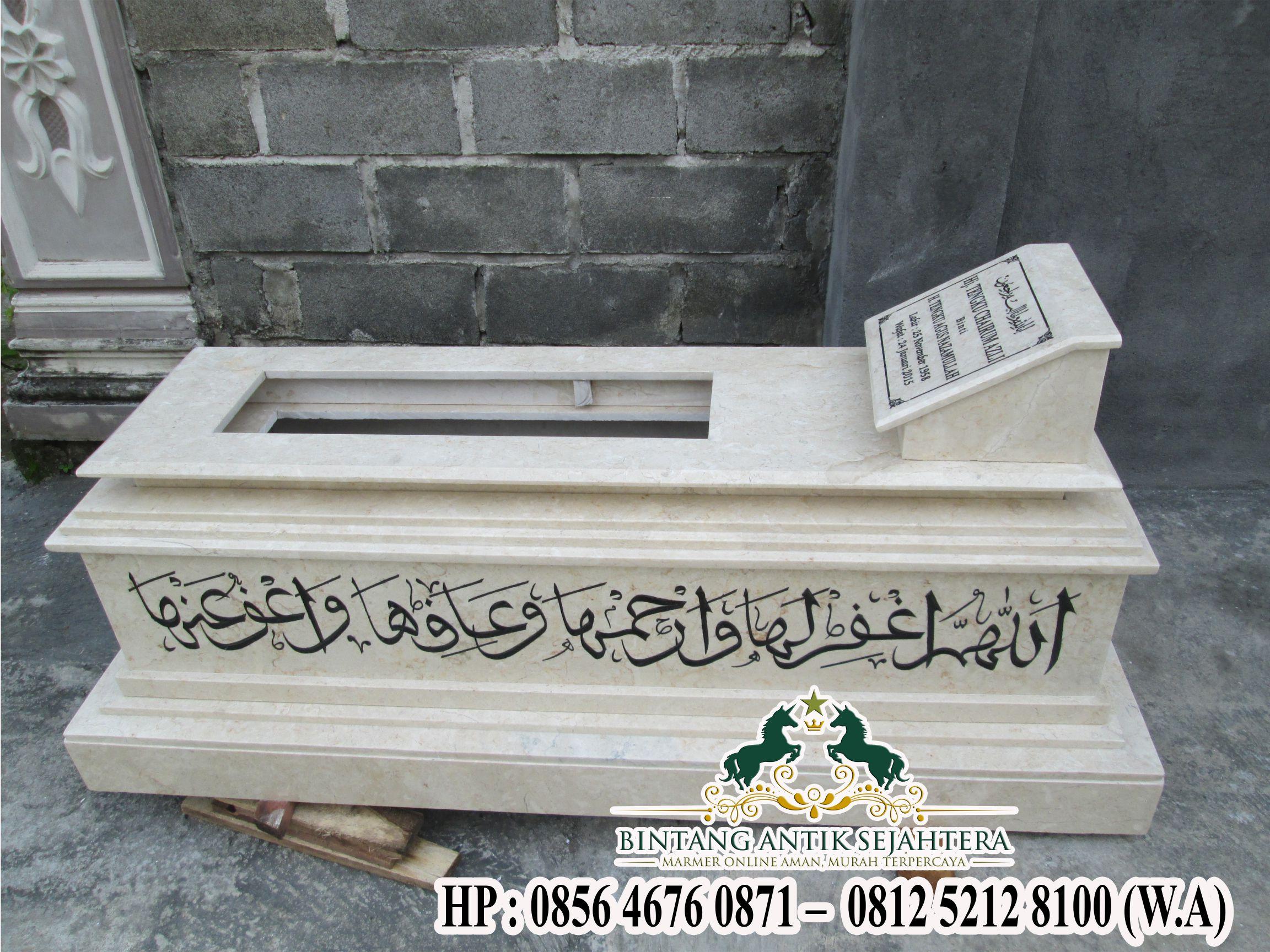 Contoh Kijing Islam Marmer dan Granit | Kijing Makam Marmer Terbaik