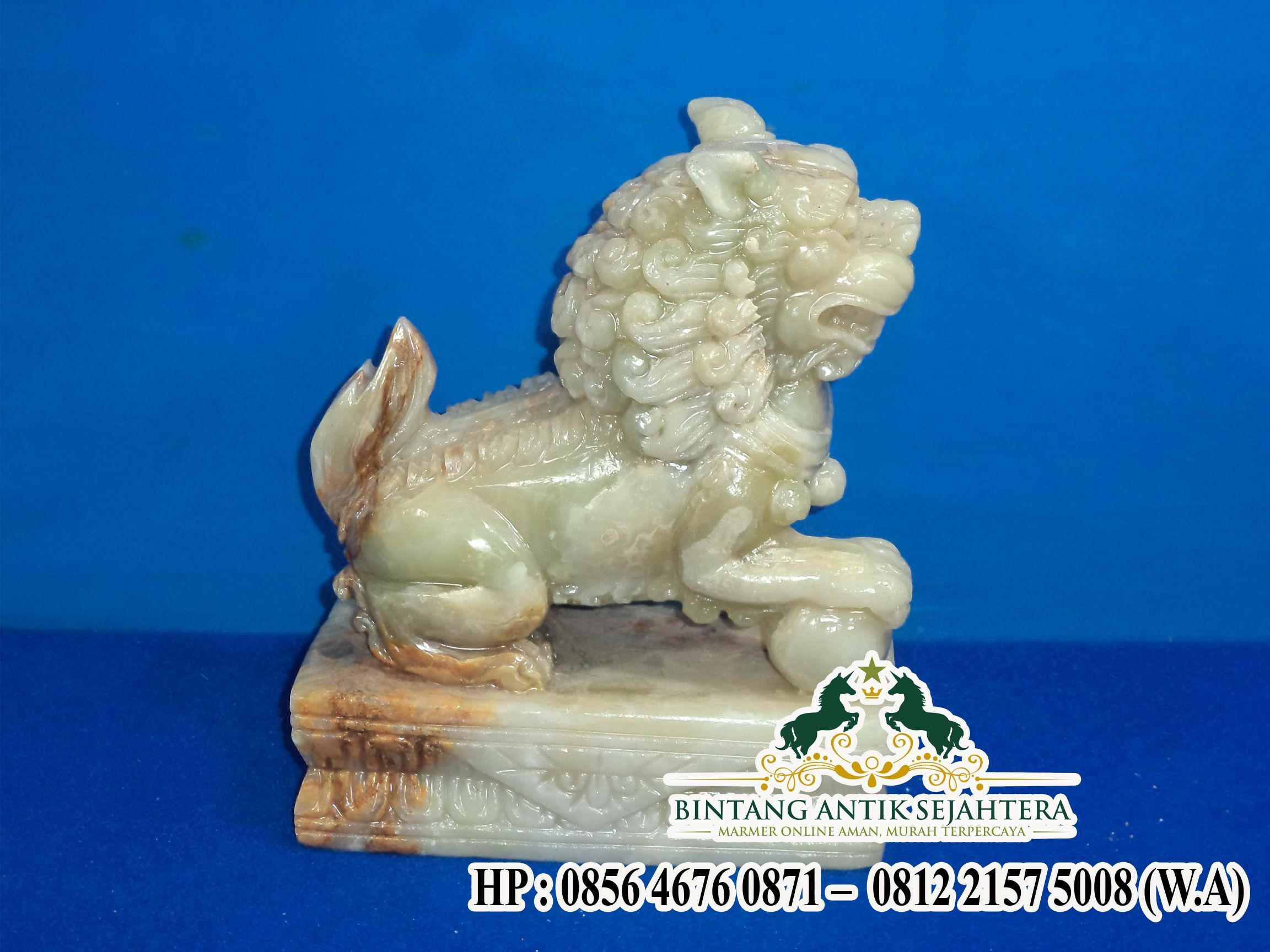 Jual Patung Macan Marmer Onyx