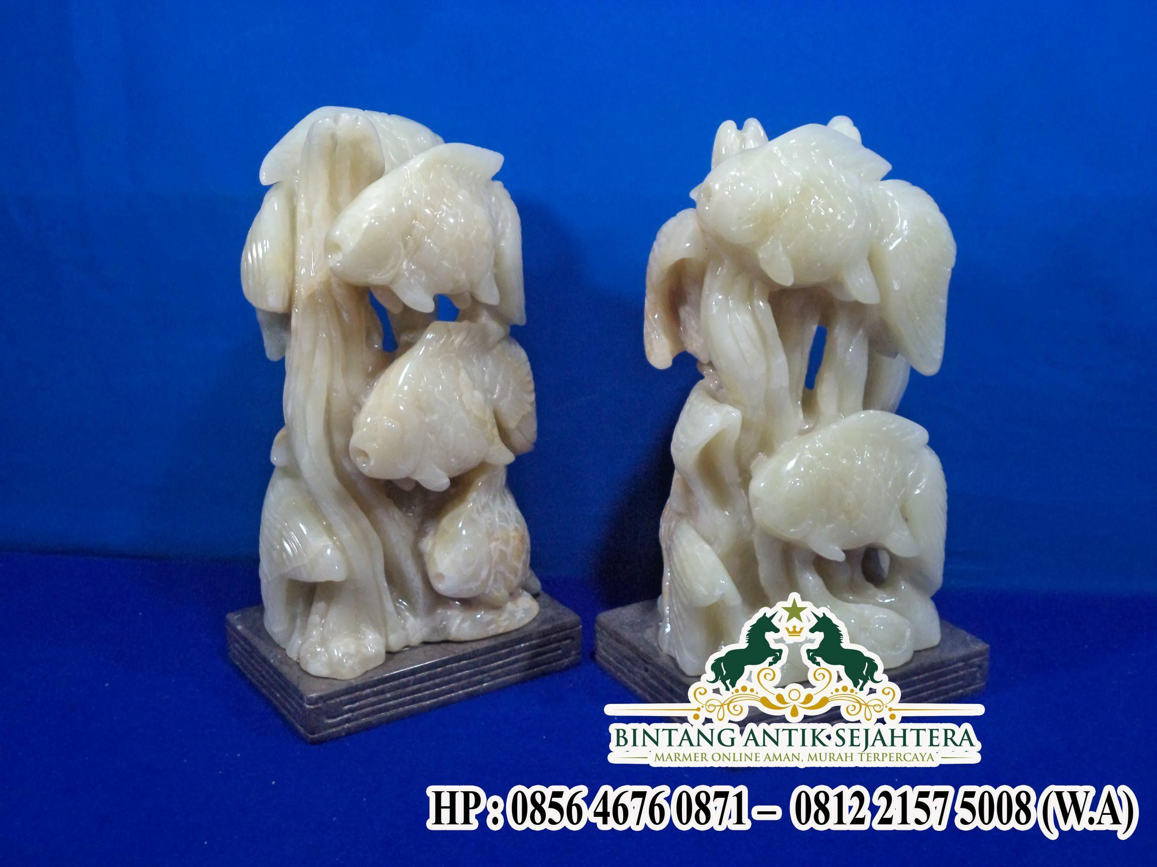 Patung Ikan Marmer Onyx | Jual Patung Marmer
