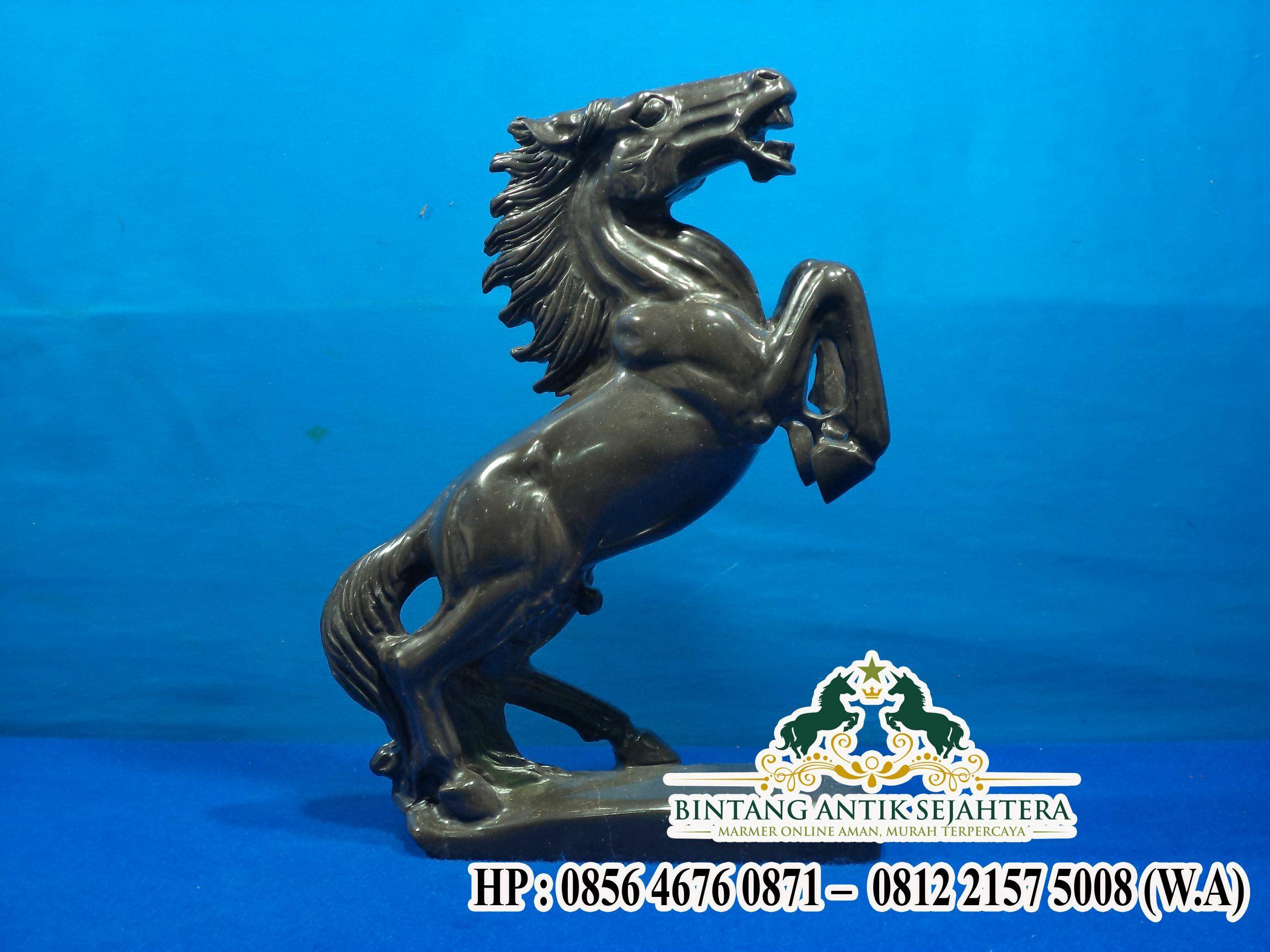Jual Patung Kuda Marmer Hitam Berkualitas