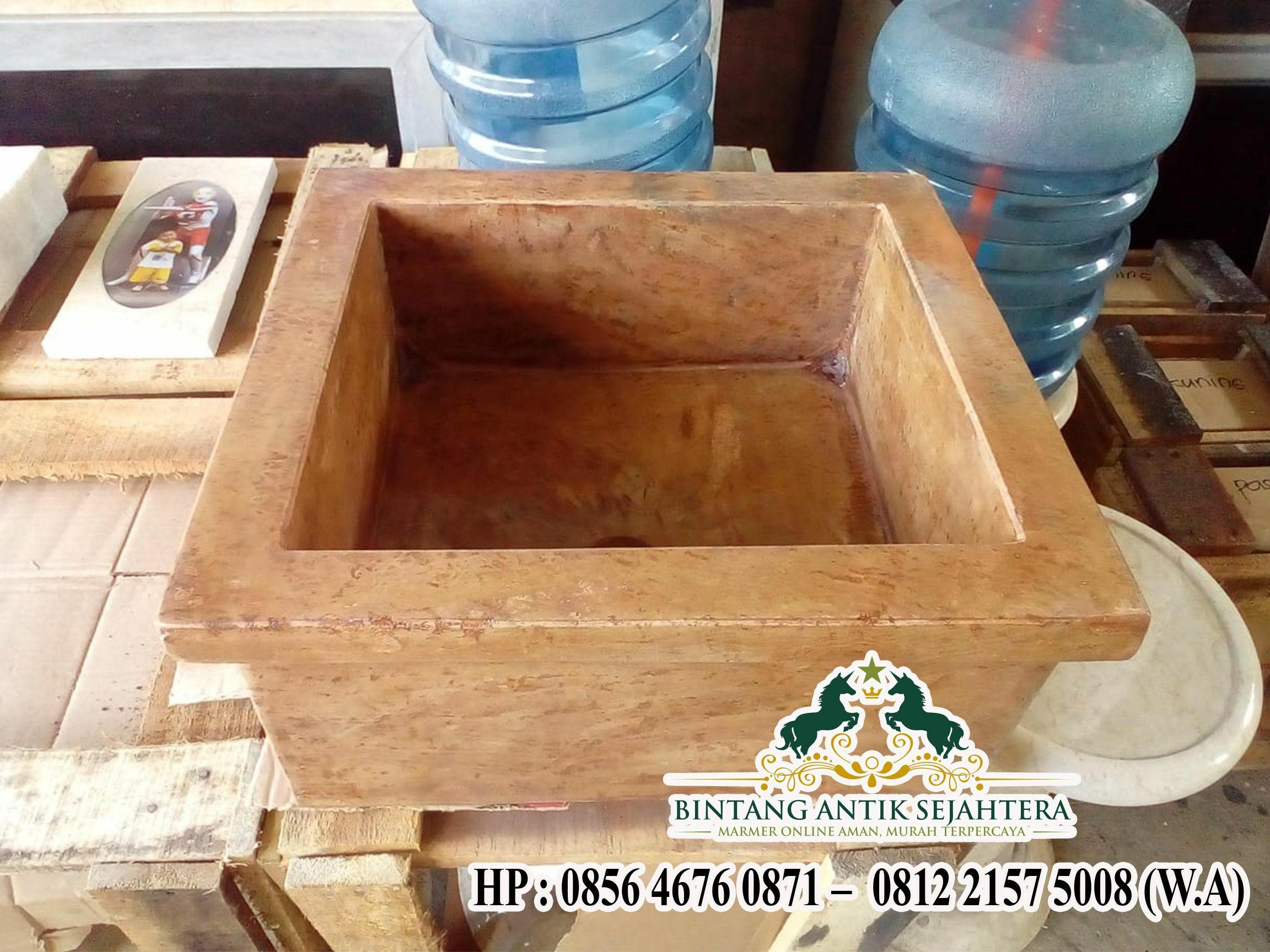 Wastafel Kotak Marmer | Jual Wastafel Onyx