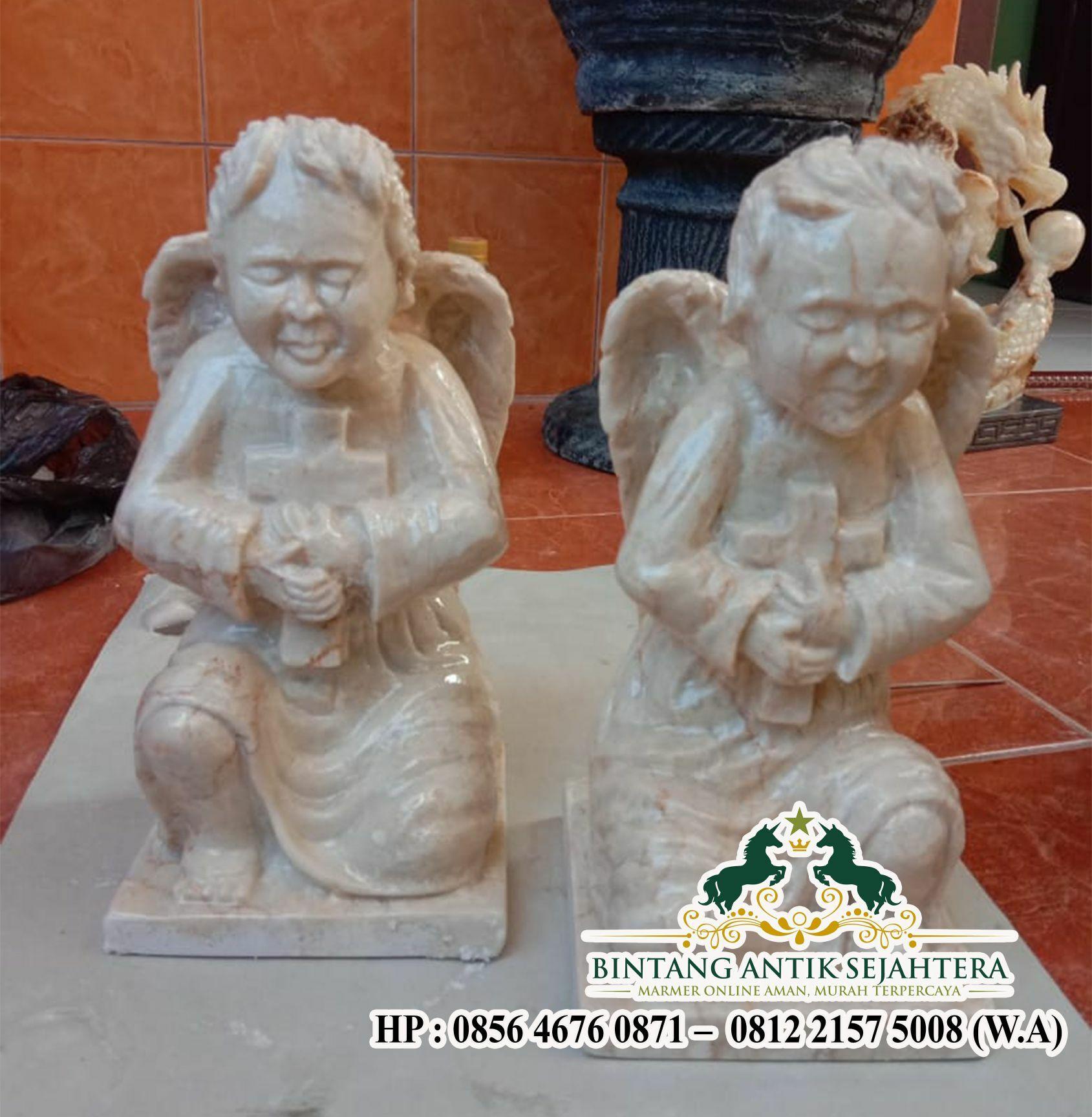 Jual Patung Marmer Malaikat Angel | Pengrajin Patung Marmer