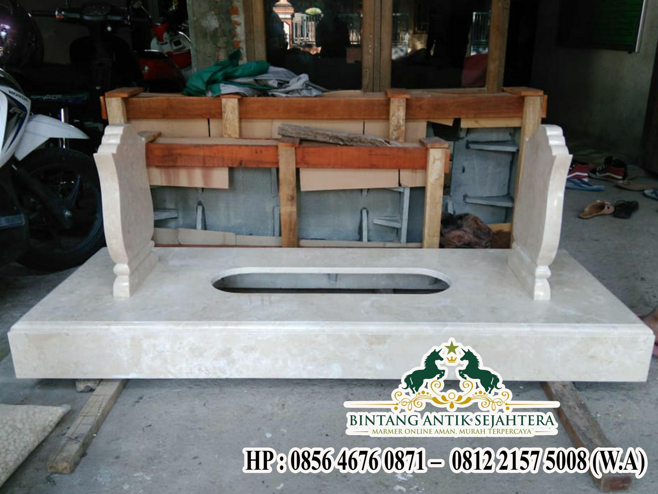 Kijing Marmer Minimalis   Jual Makam Marmer  di Malang