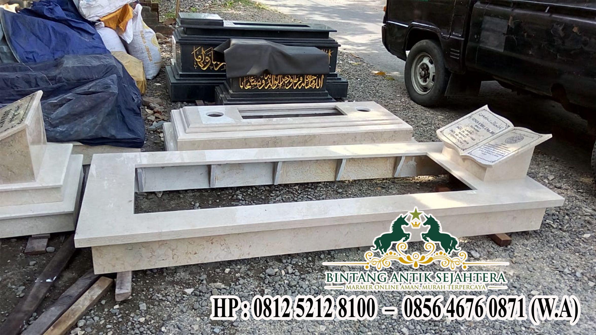 Model Makam Bahan Marmer, Jual Kijing Semarang