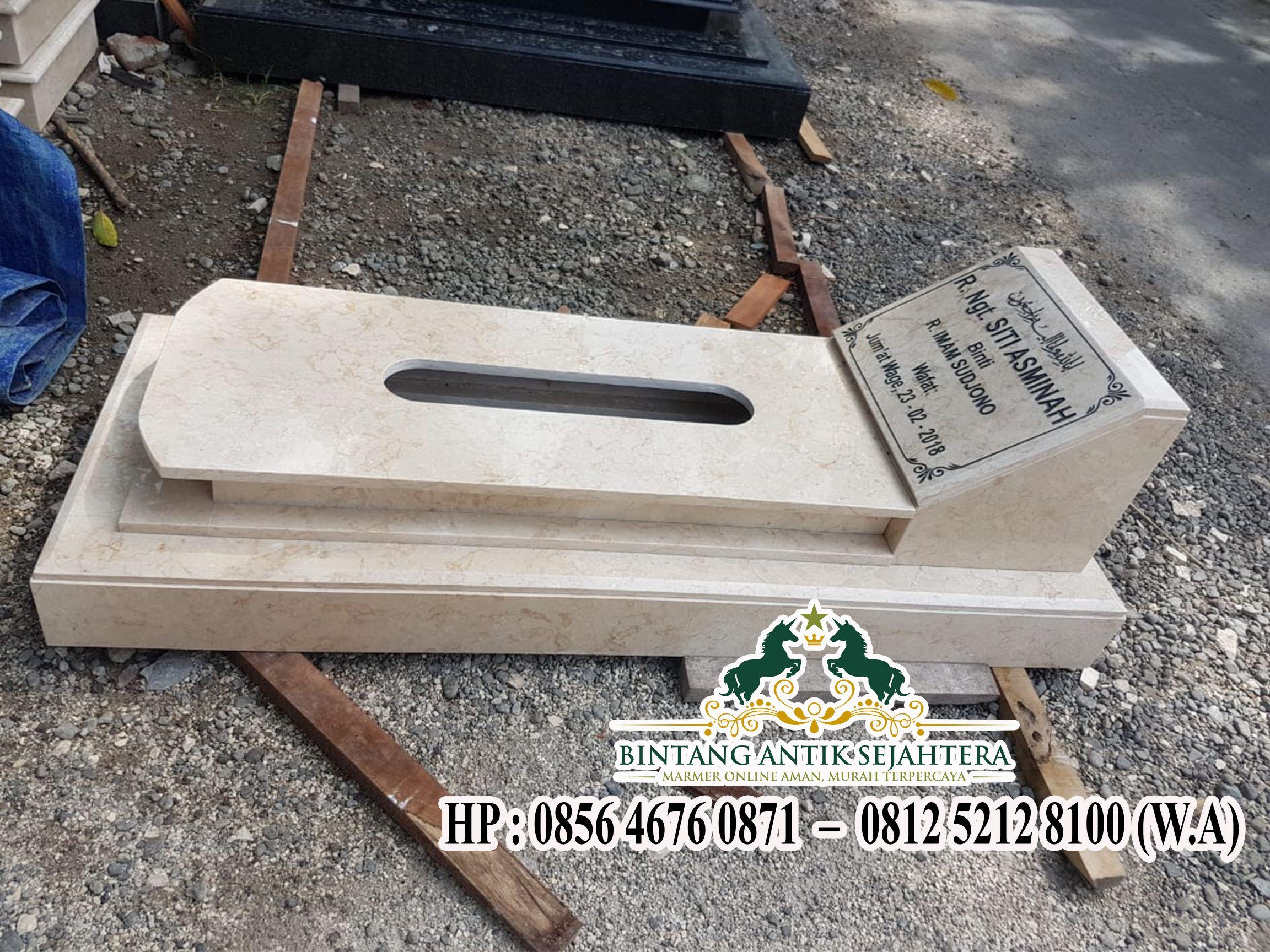 Makam Model Jakartanan Marmer   Kijing Pemakaman Batu Alam
