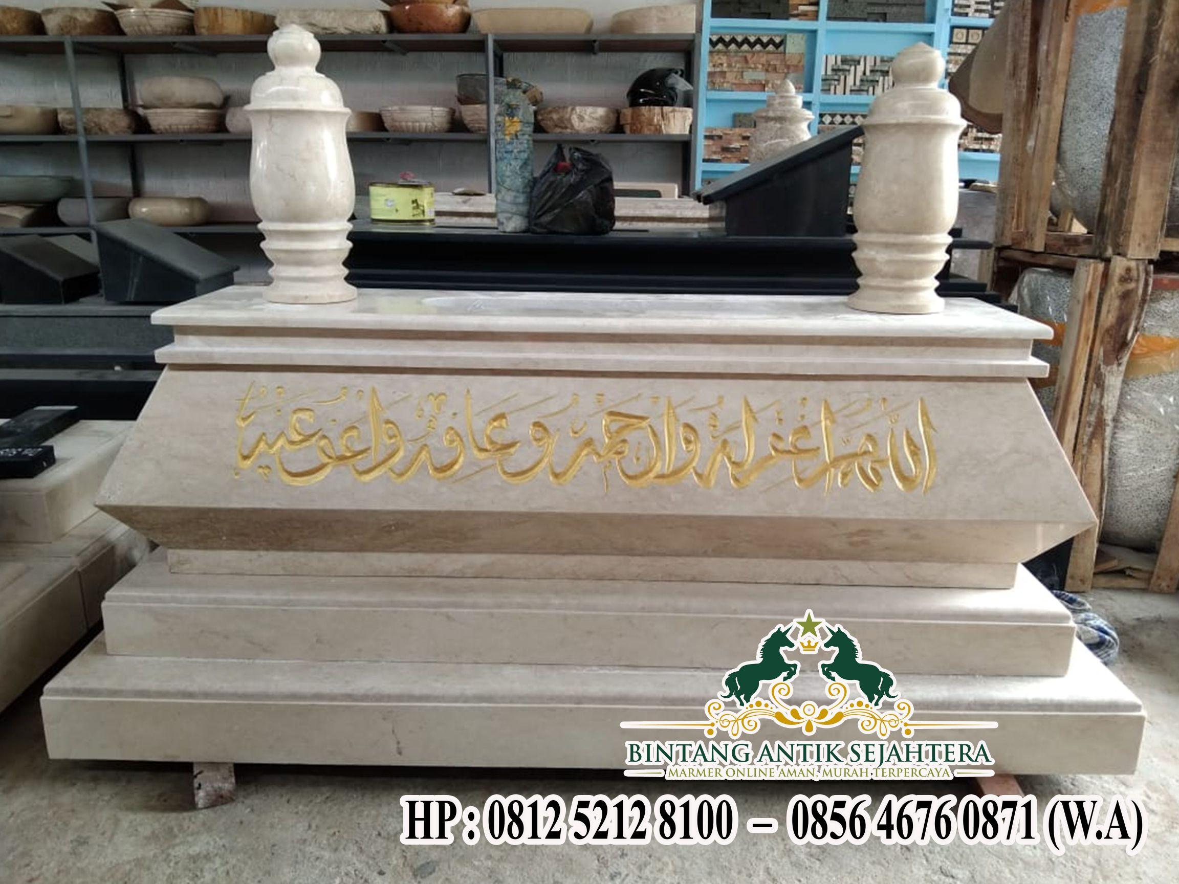 Makam Marmer Model Bokoran, Model Bokoran Marmer