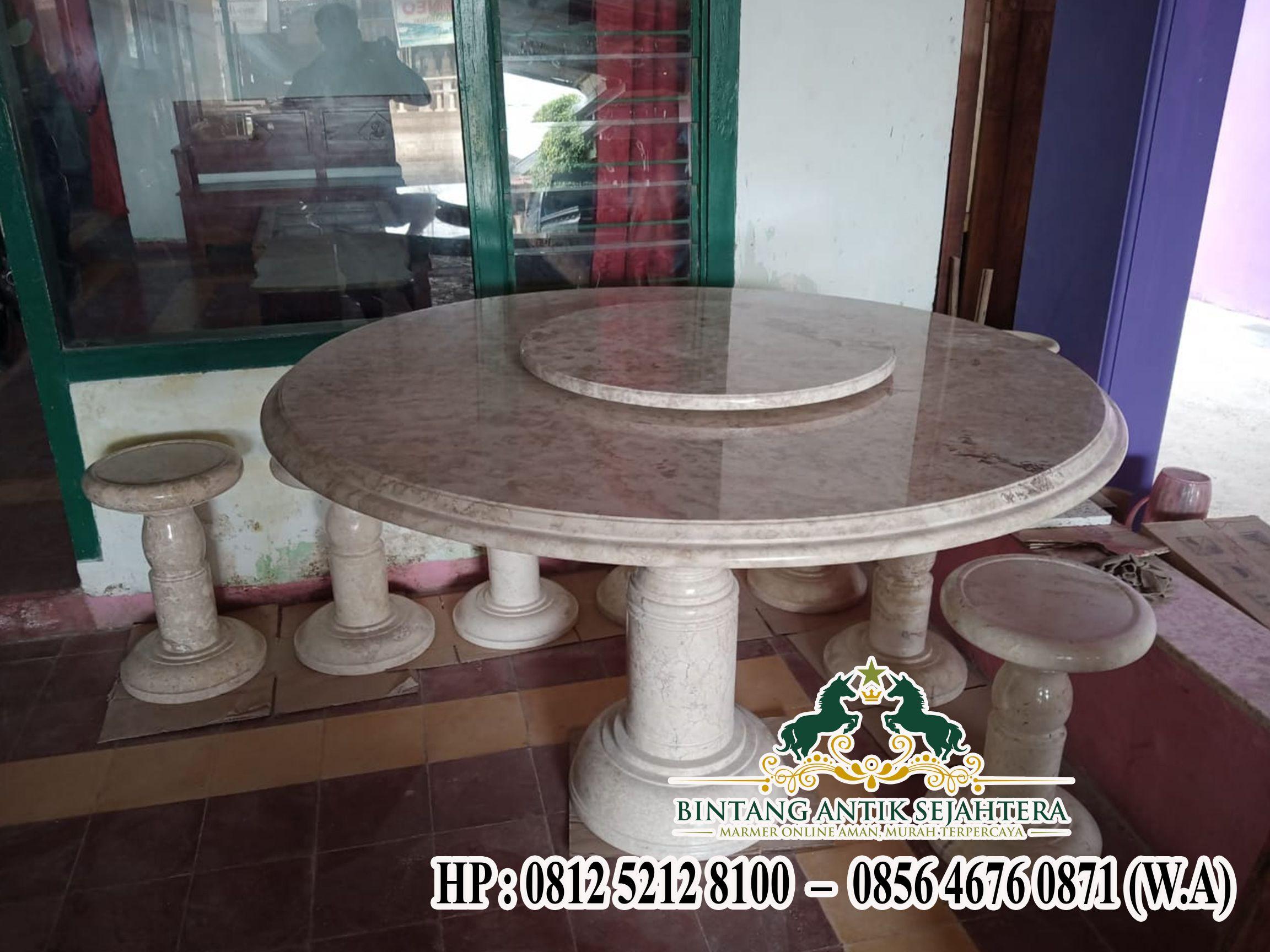 Meja Makan Minimalis Marmer, Jual Meja Makan Marmer Set