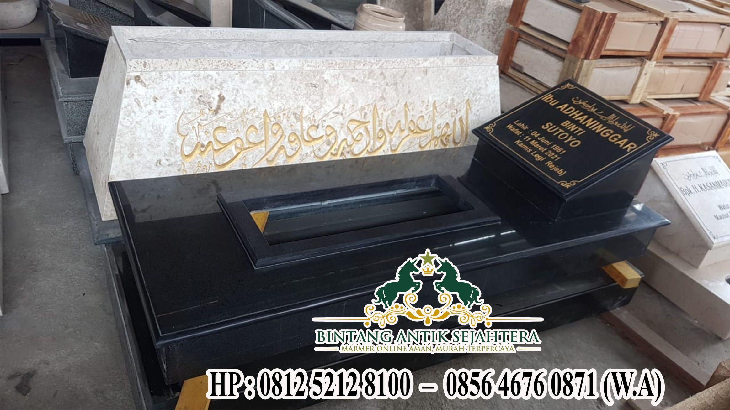 Contoh Makam Granit, Model Kuburan Minimalis di Pasuruan